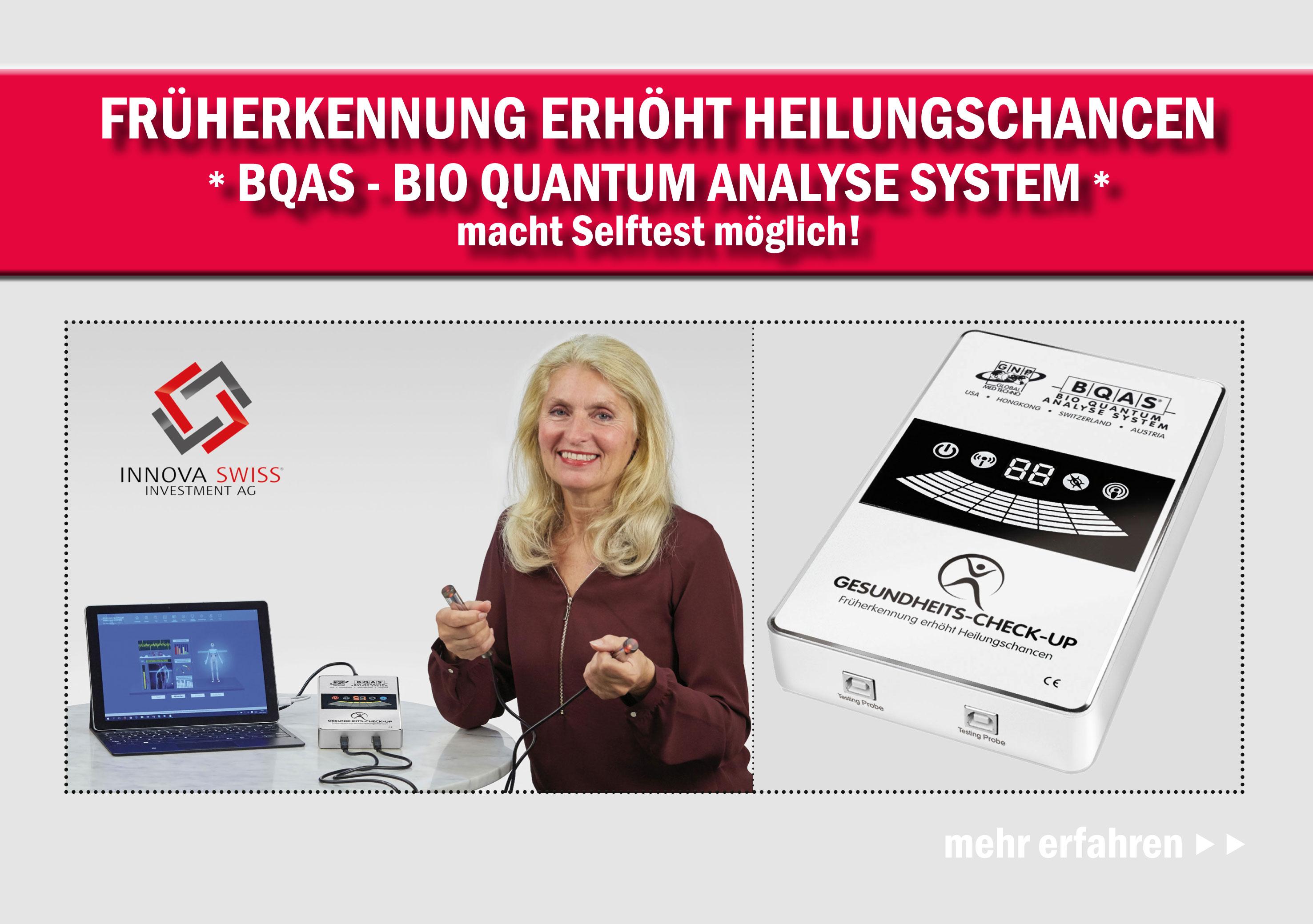 BQAS Bio Quantum Analyse System